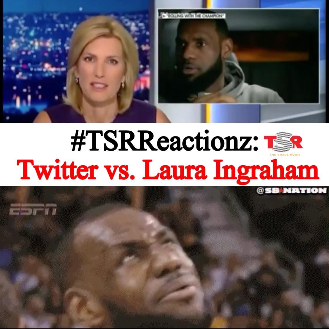 Twitter vs. Laura Ingraham