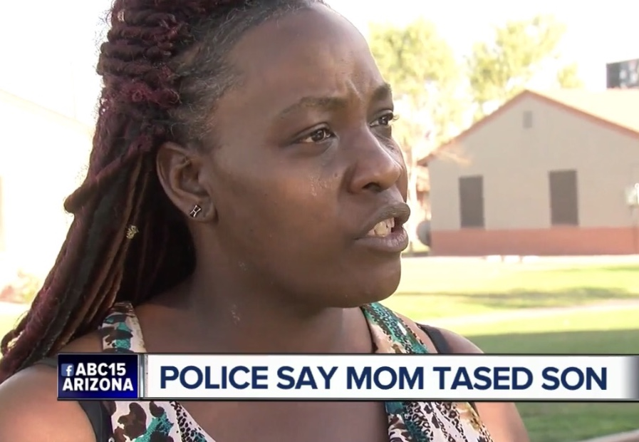 Mom accused of using stun gun to get son out of bed on Easter