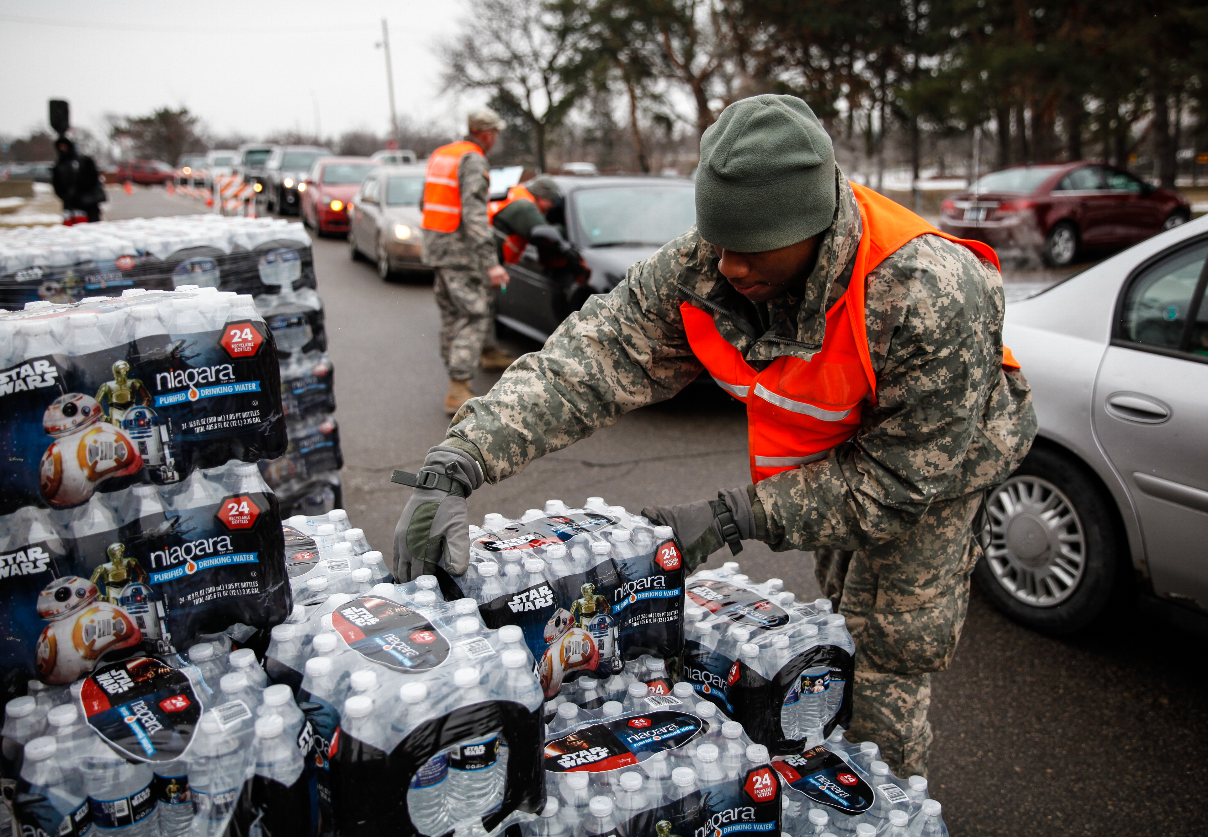 Michigan Is Ending Free Bottled Water For Flint, Governor Says Water Crisis Is Over