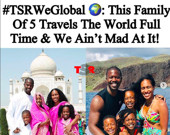 This Family Of 5 Travels The World Full Time & We Ain't Mad At It!