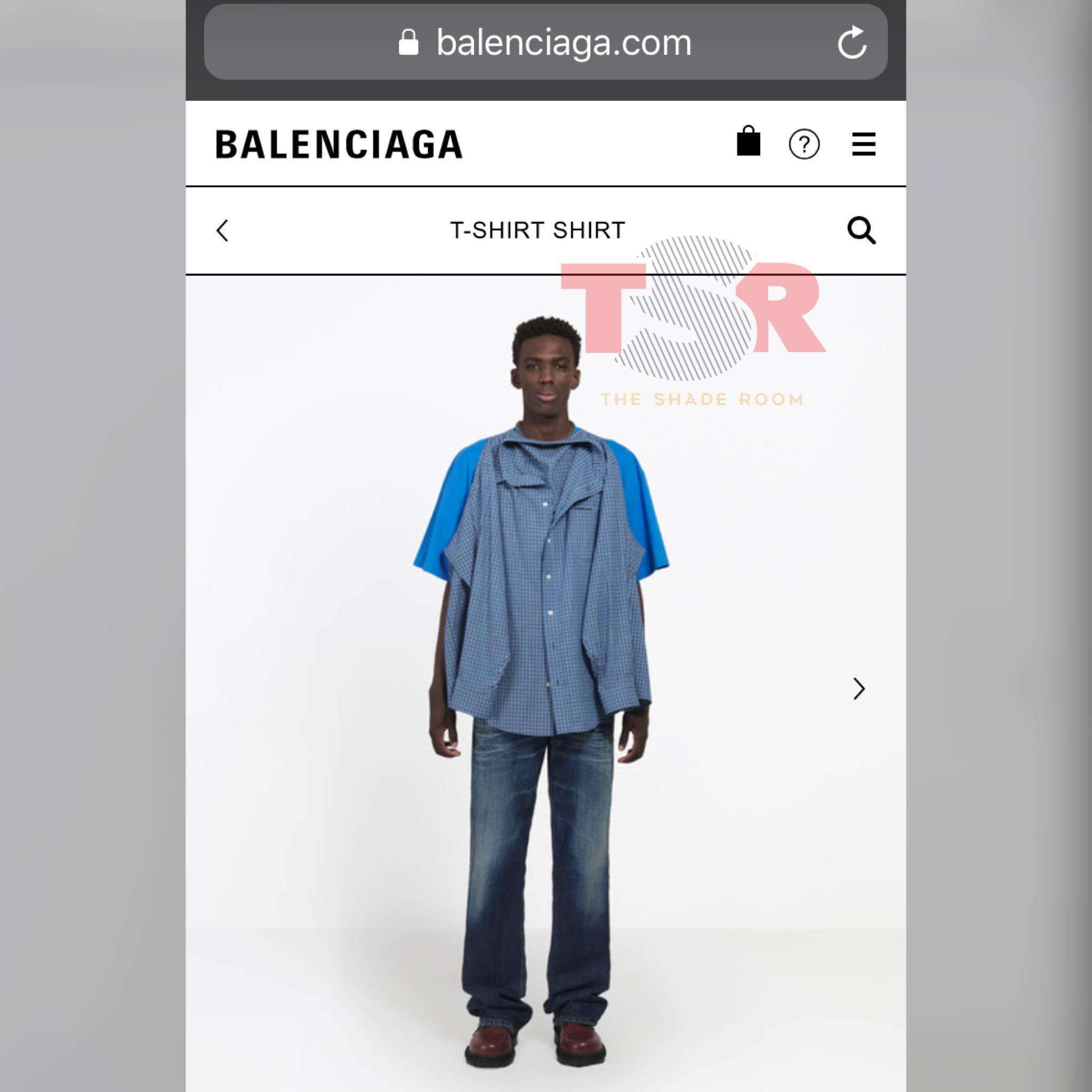 "TSRFashion: Y\'all Coppin\' Balenciaga\'s $1,290 ""T-Shirt Shirt""? - The ..."