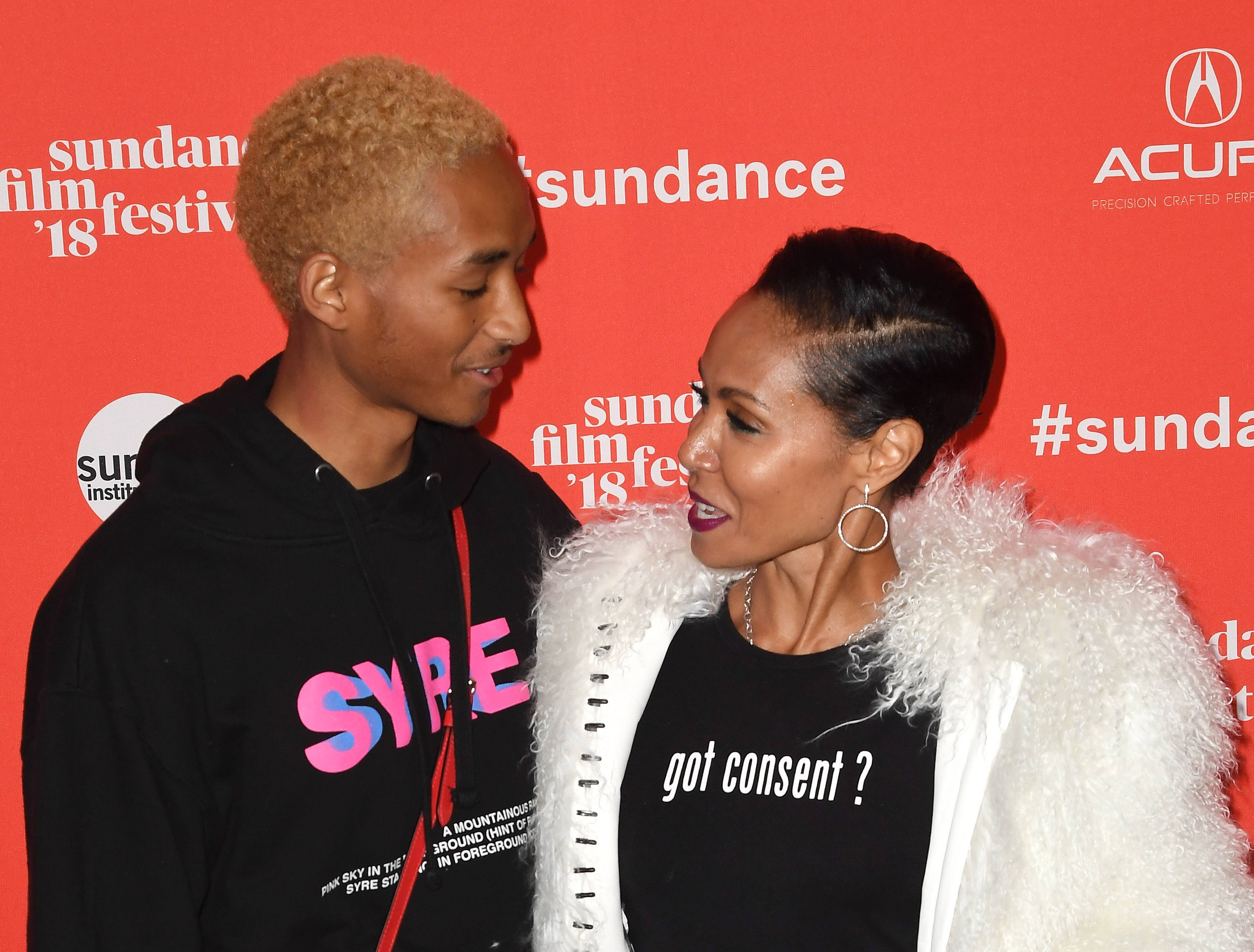 Jada Pinkett Smith Explains Why She Let Jaden Smith Move Out At The Age Of 15