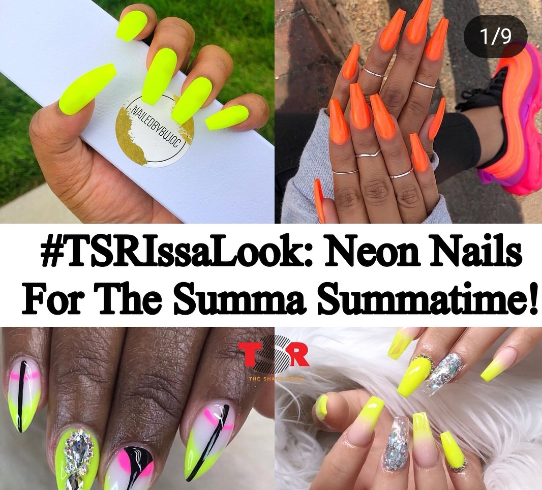 Neon Nails For The Summa Summatime!