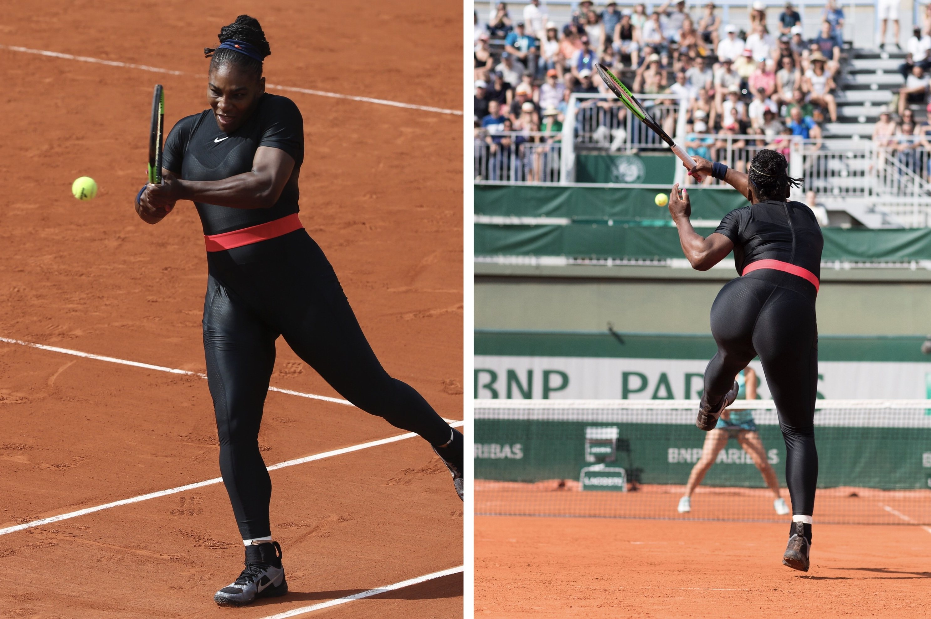 Let The Catsuit Be Great! Serena Williams Banned From ...