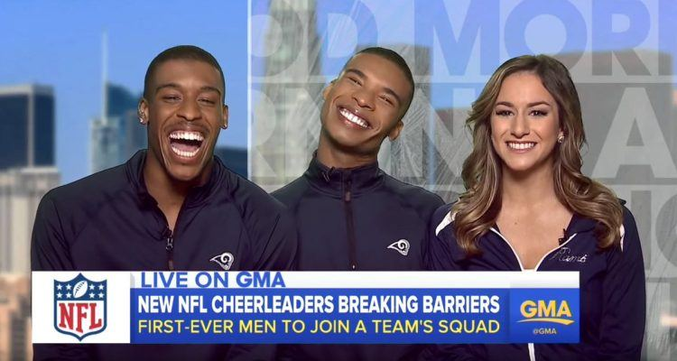The NFL's First Male Cheerleaders Will Make Their Debut This Season!