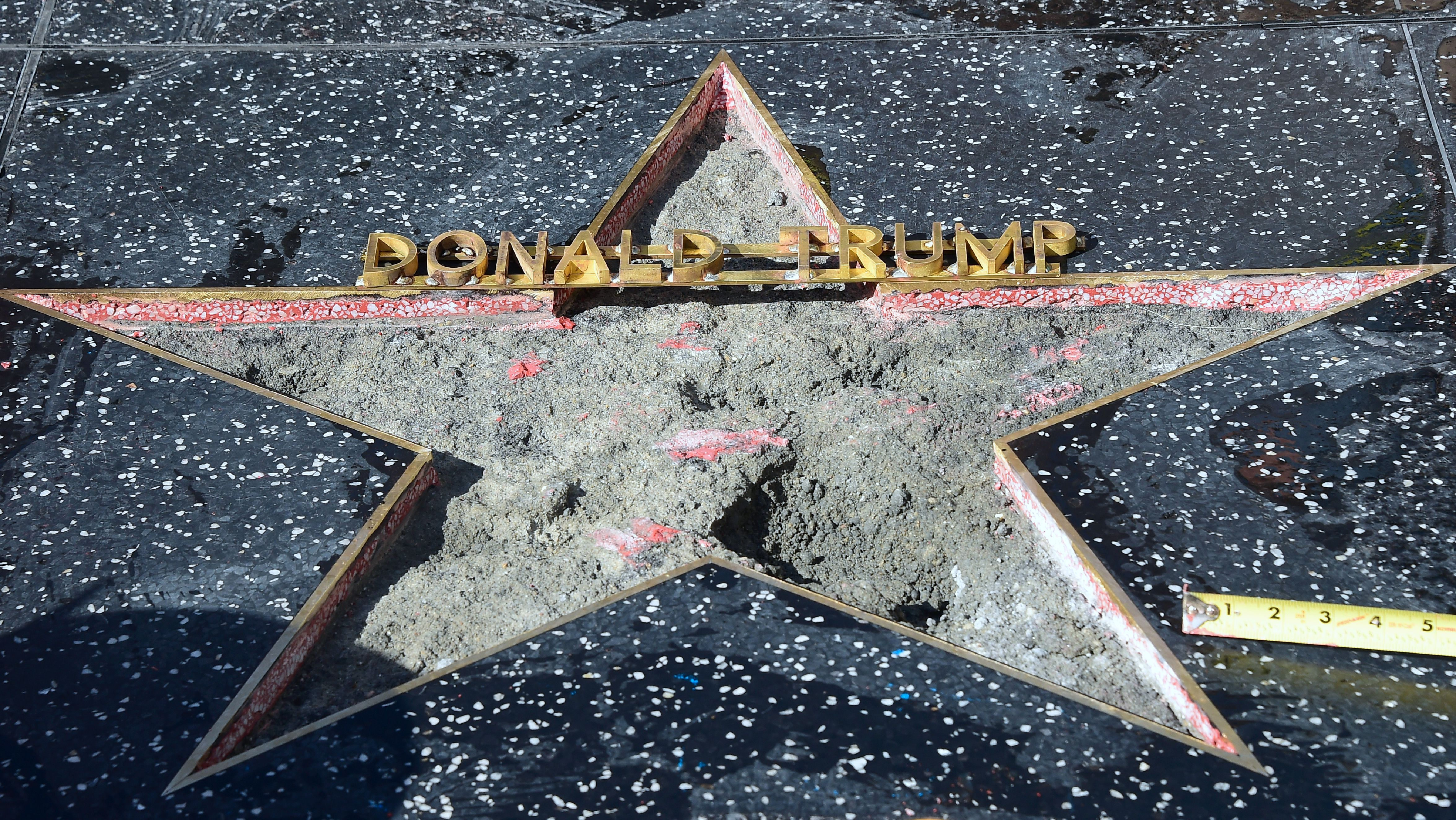 West Hollywood City Council Passes Resolution Asking The Hollywood Chamber Of Commerce To Remove Donald Trump's Star On The Hollywood Walk of Fame