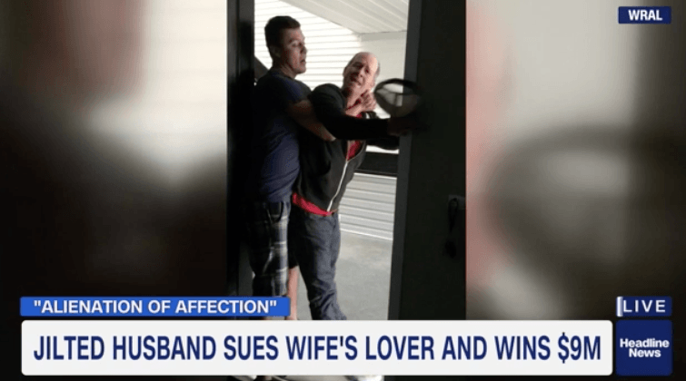 North Carolina Man Sues His Wife's Lover & Wins $8.8 Million