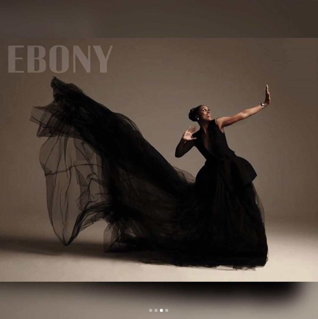 Issa Rae on Ebony