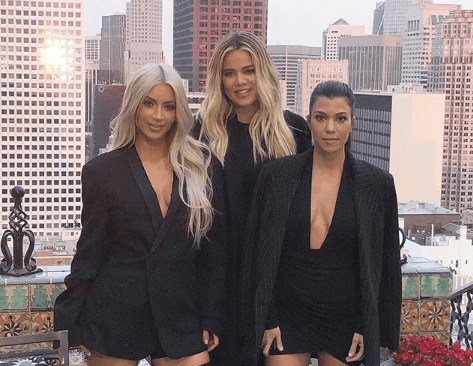 Kim & Khloe Kardashian Step Into The Shade Room To Shade Kourtney's Ex Bae After Pictures Of Him With A New Girl Surface Online
