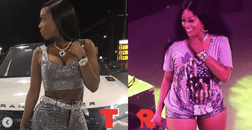 TSRBishStoleMyLook: Trina and Kash Doll - The Shade Room