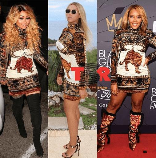 Beyoncé, Angela Simmons & Blac Chyna