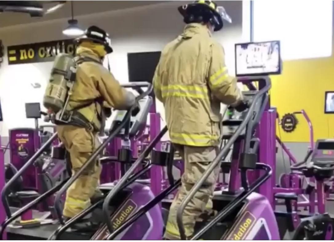 Georgia Firefighters Walk 110 Flights Of Stairs In Honor Of 9/11 First Responders