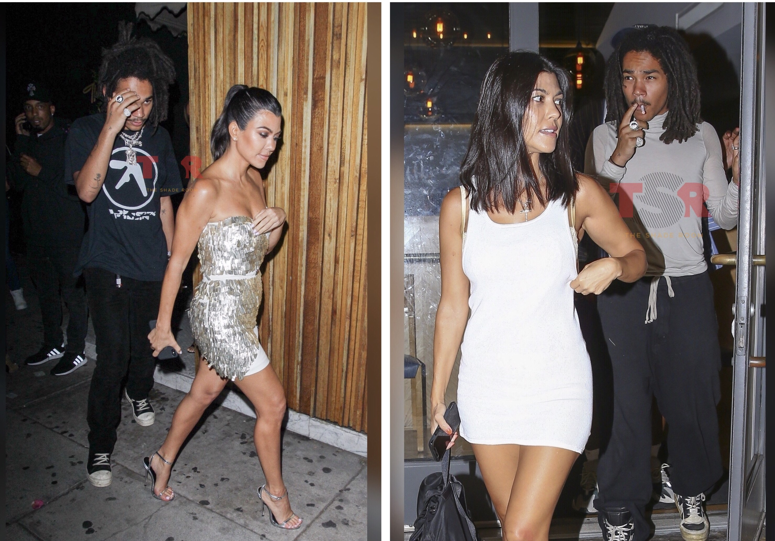 Kourtney Kardashian Is Reportedly Getting Well Acquainted With 20-Year-Old Actor Luka Sabbat