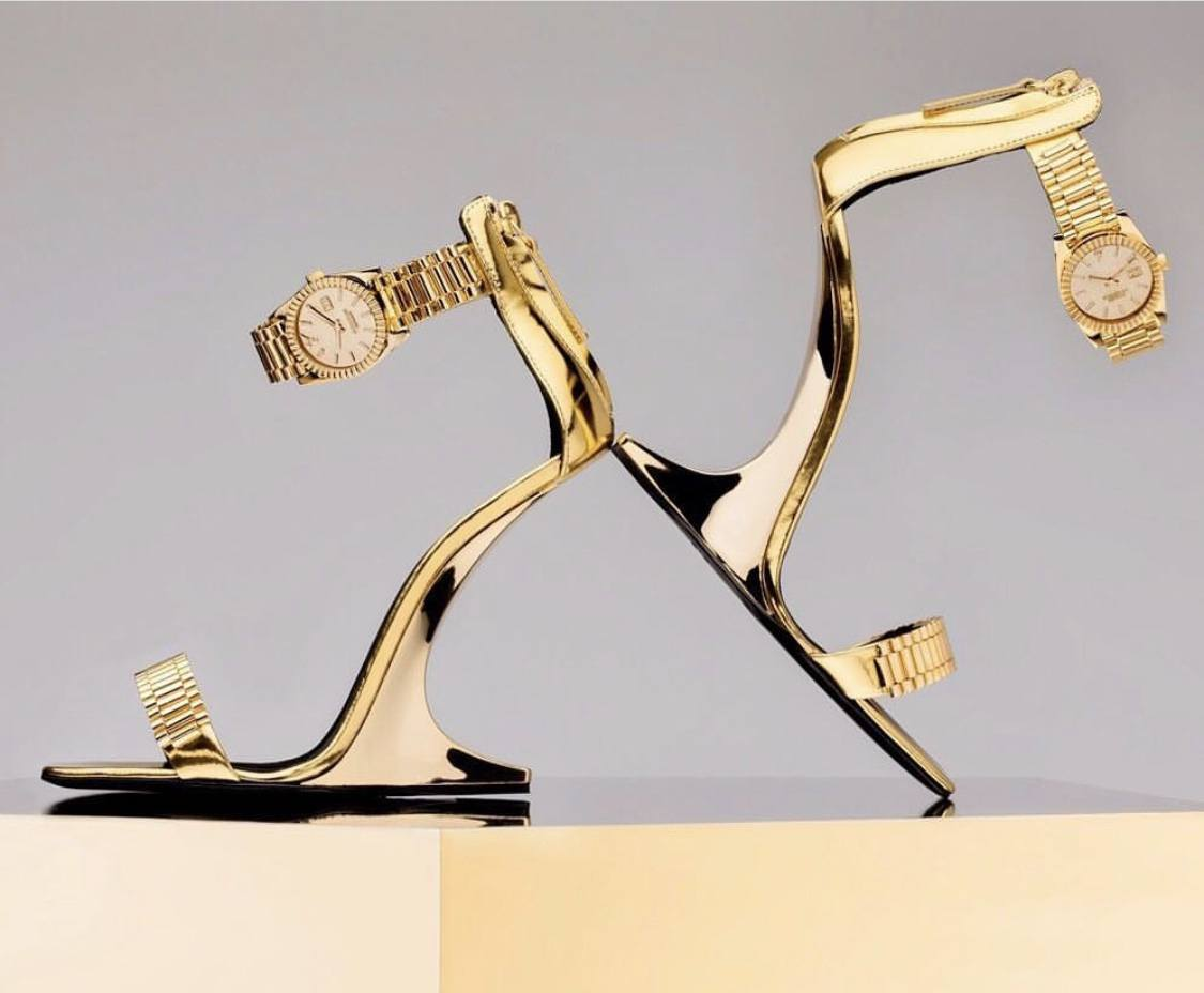 Would Y'all Cop These Giuseppe Zanotti And Christian Cowan Watch Heels & Sandals?