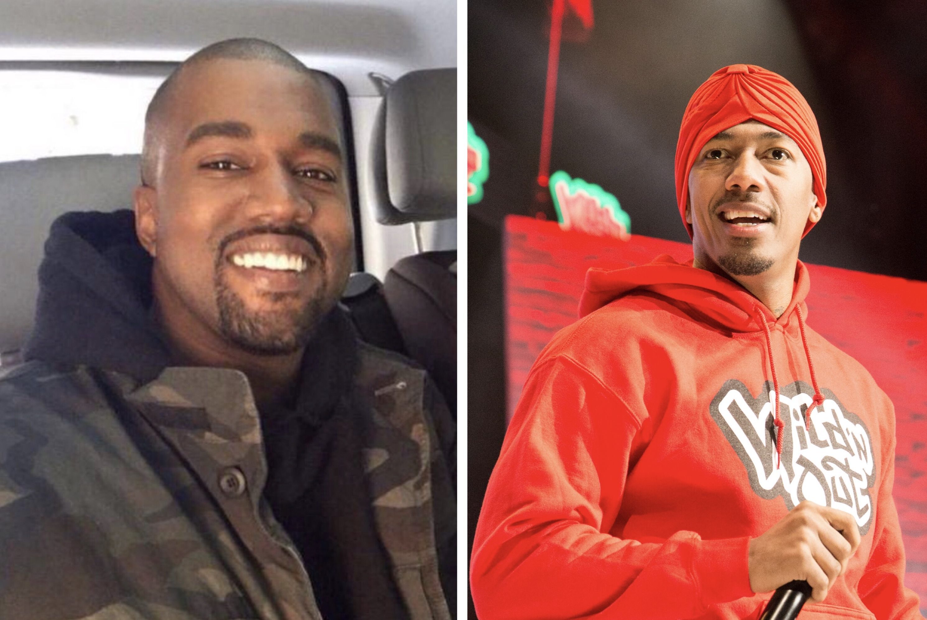 Kanye West And Nick Cannon Reportedly Put Their Lil Beef Behind Them And Talked It Out