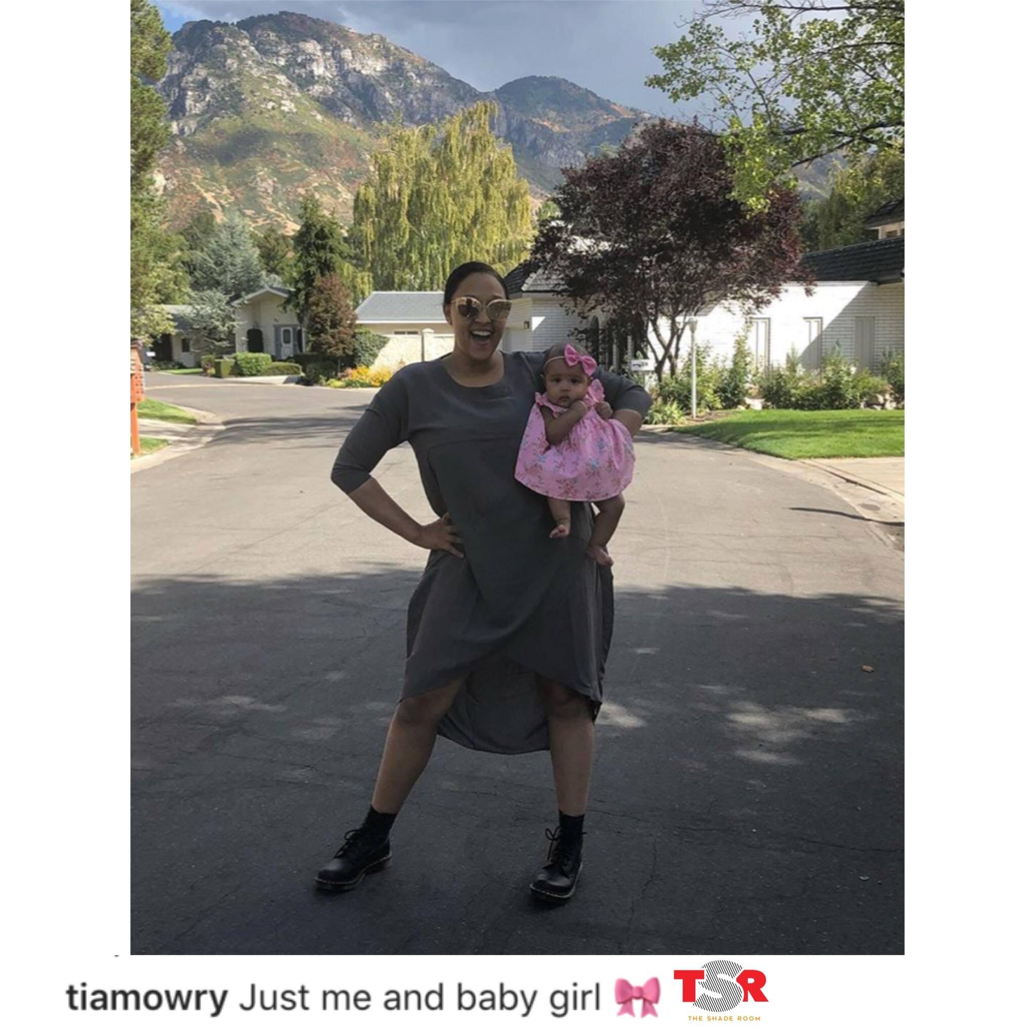 Tia Mowry & Her Adorable Baby Girl