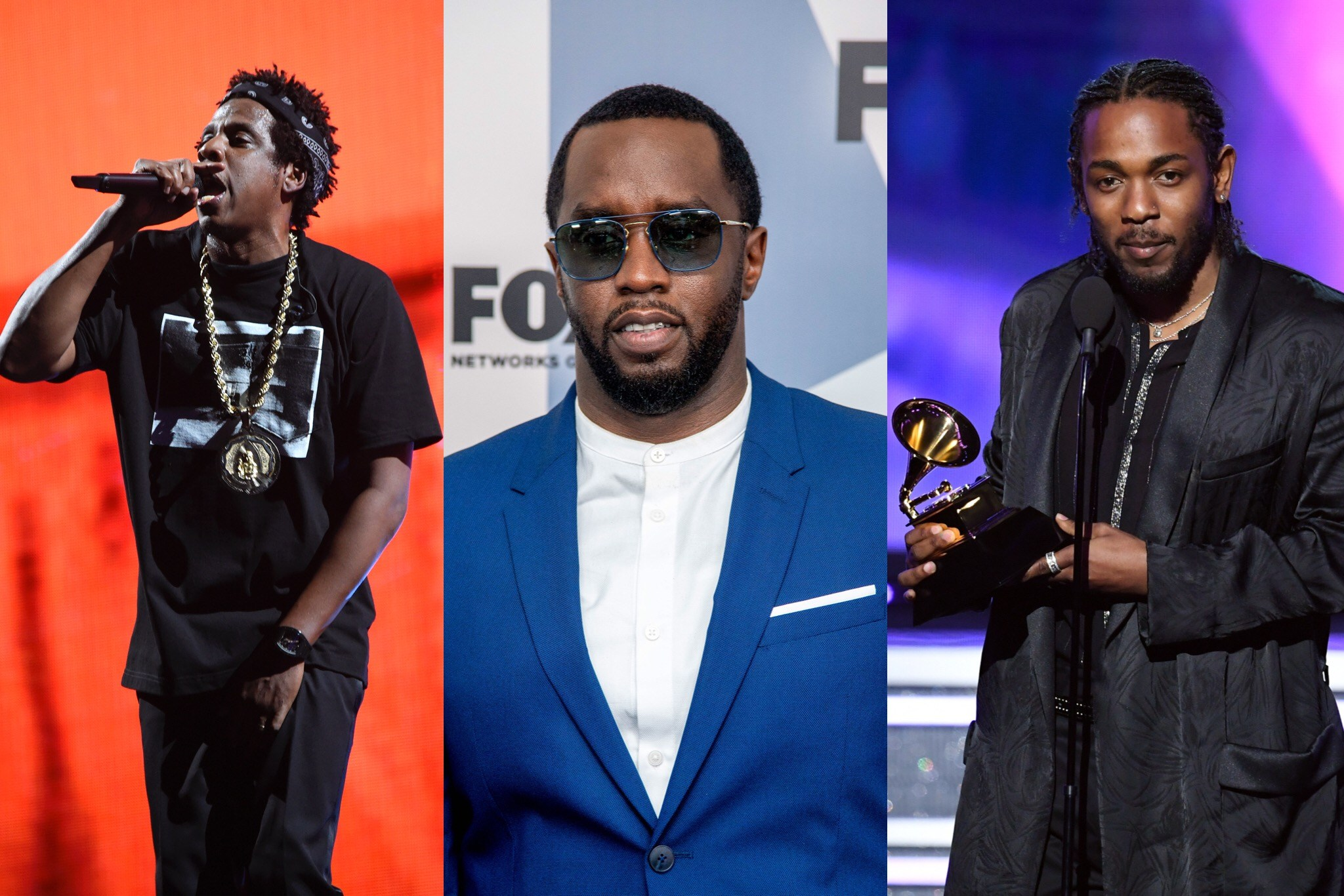 Jay-Z, Diddy And Kendrick Lamar Top The List For Forbes' Of The World's Highest Paid Hip-Hop Acts