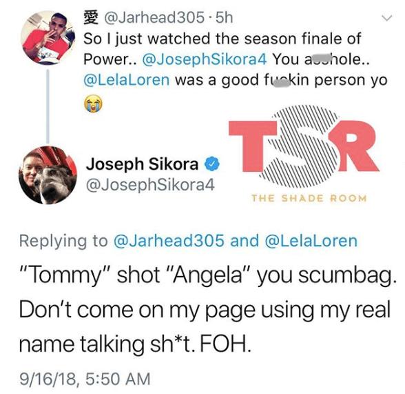 Joseph Sikora AKA Tommy Had Time Today!