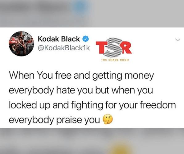 Is Kodak Black Speaking Facts?
