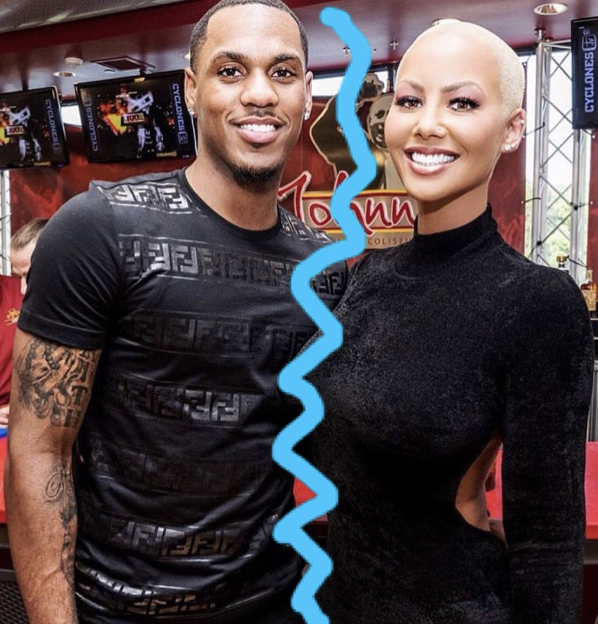 buy popular ca938 98cef TSRBreakUpz: Amber Rose And New Boo Monte Morris Are Over ...