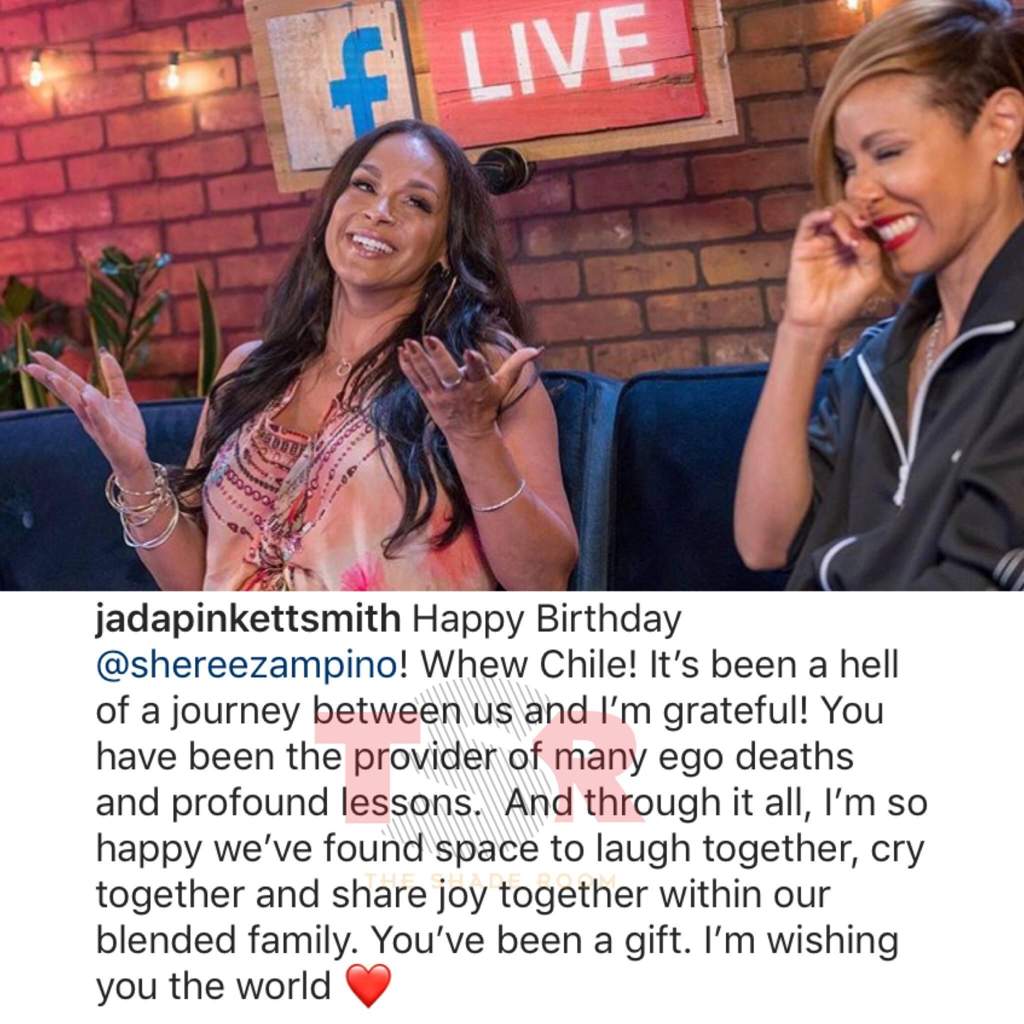 Will Smith Wishes His Ex Sheree Zampino A Happy Birthday!