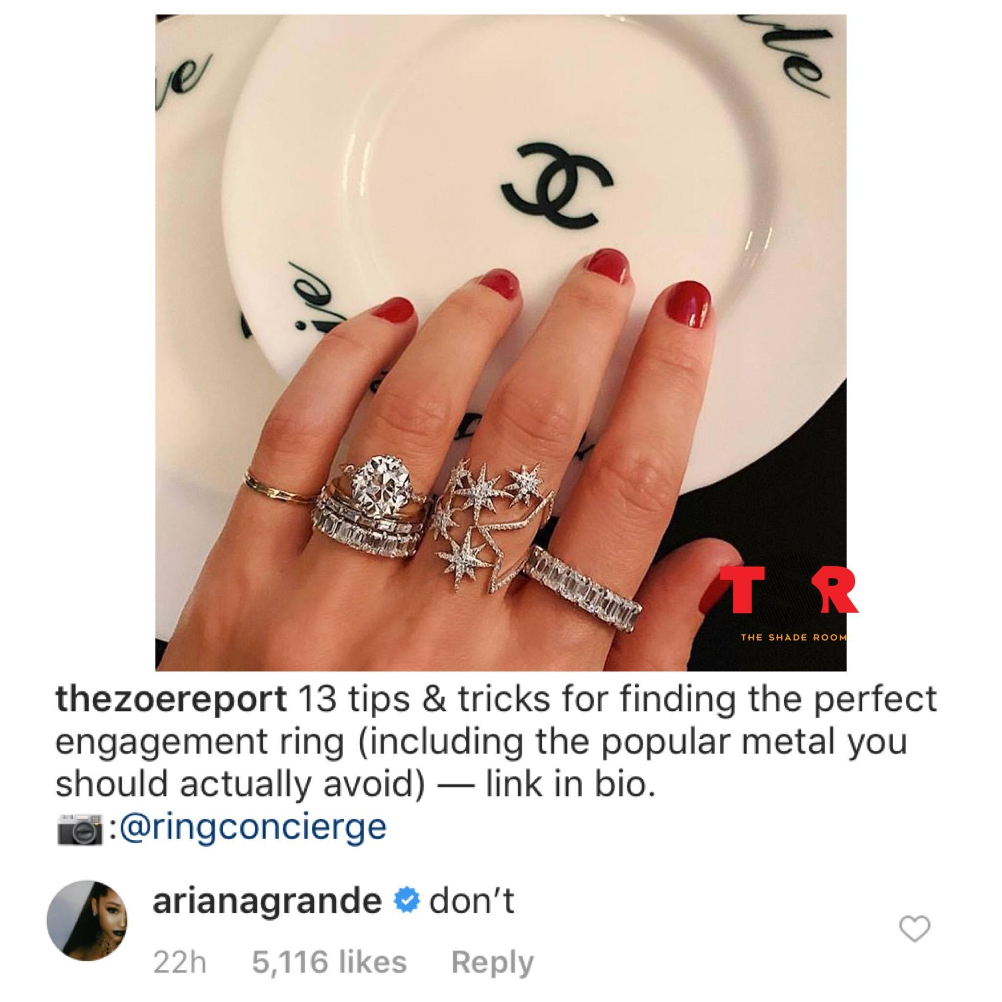 Ariana Grande and the Zoe Report