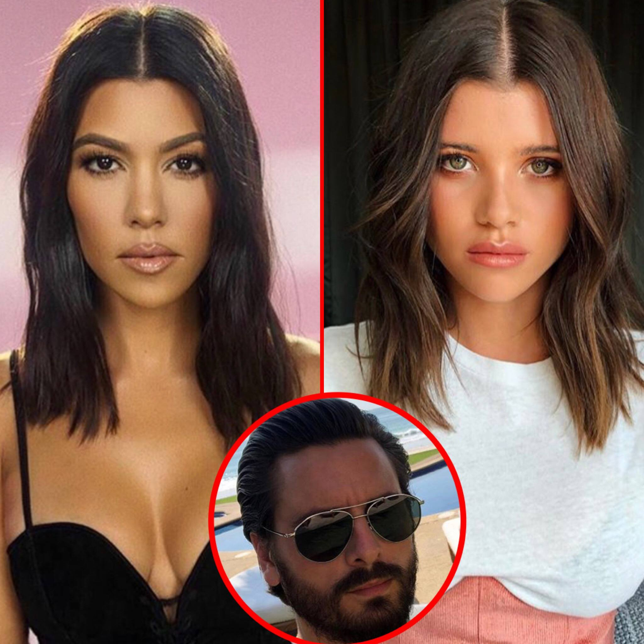 "Kourtney Kardashian, Scott Disick & Sofia Richie Spotted Together For The First Time For What's Alleged To Be A ""Tense"" Dinner"