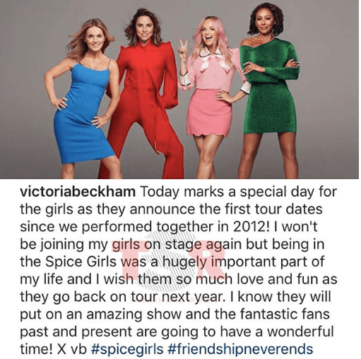 The Spice Girls Are Reuniting For A Tour Again Without Victoria Beckham