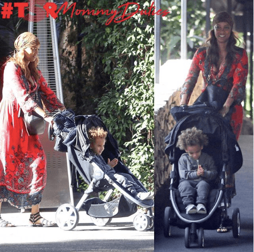Tyra Banks And Son: #TSRMommyDuties: Tyra Banks And Her Son York