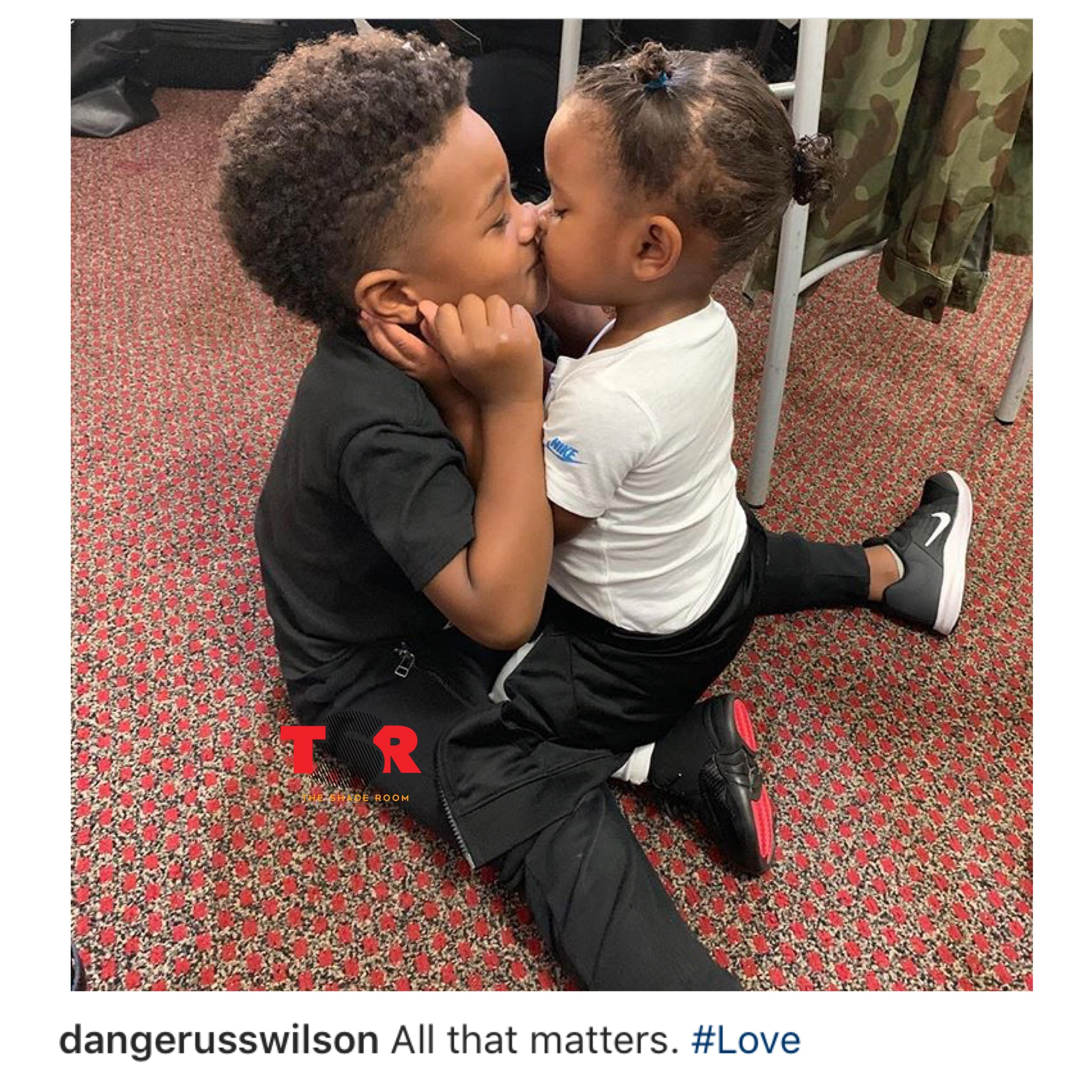 Sibling love Ciara and Russell Wilson