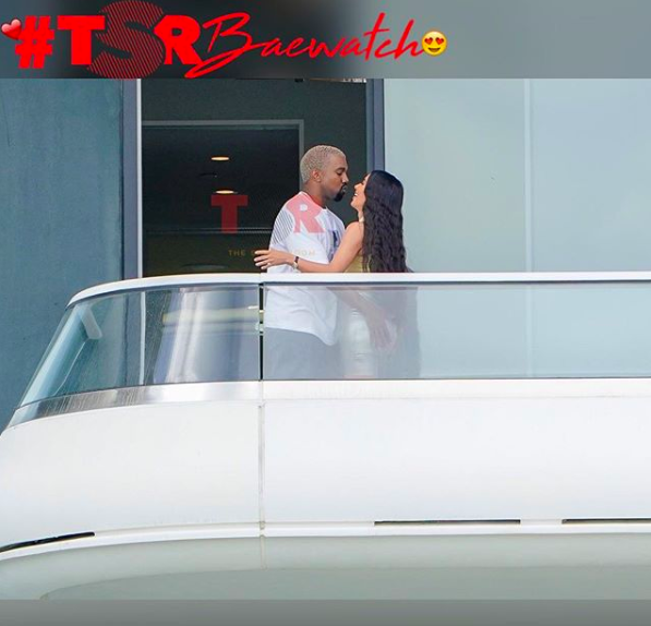 Kim and Kanye pack on the PDA in Miami