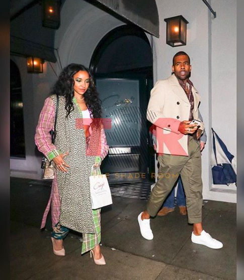 Tinashe and Mario Spotted Together At Dinner
