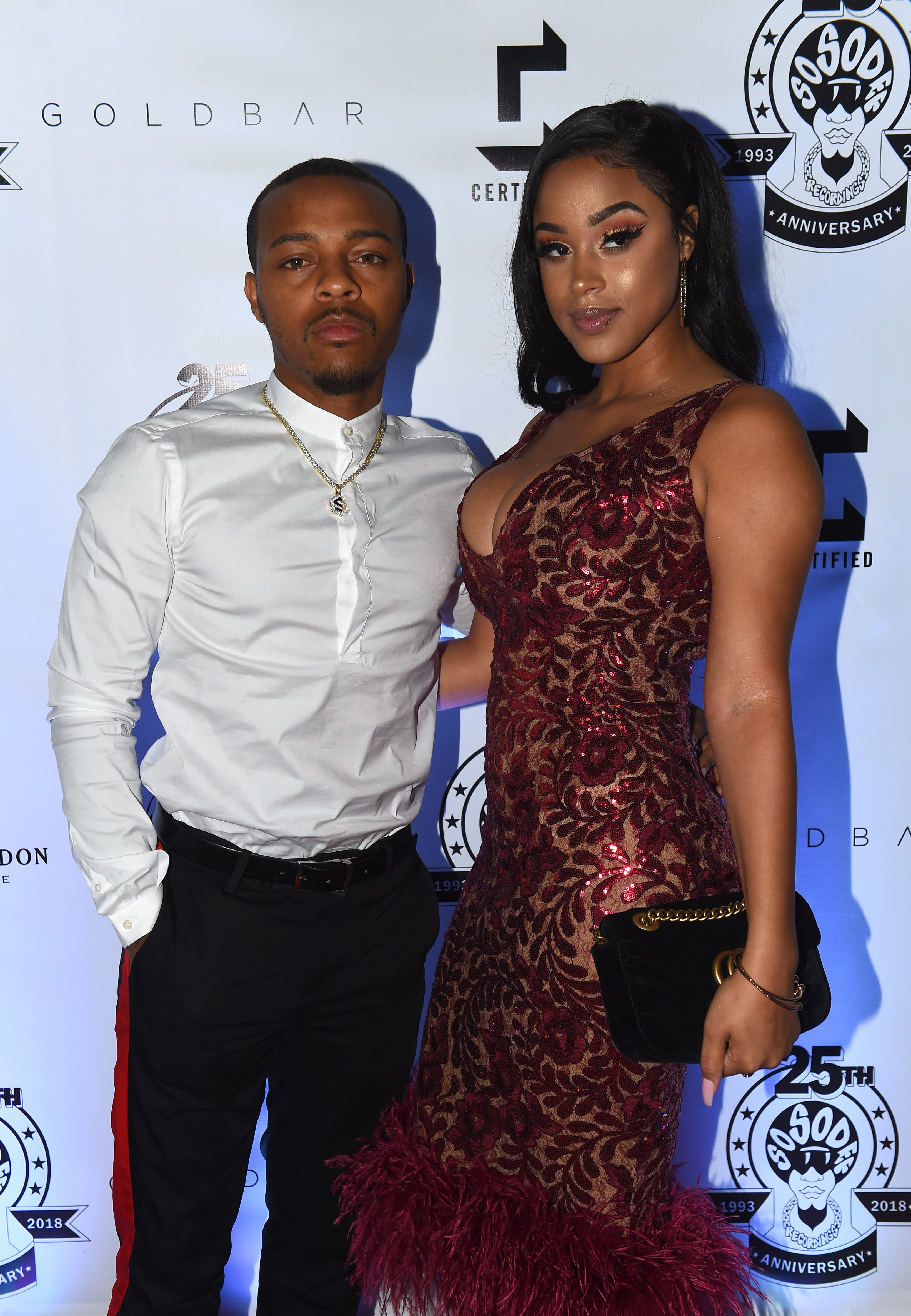 Bow Wow And Kiyomi Leslie's Arrest Reportedly Came After They Had A Fight About Her Talking To Another Man