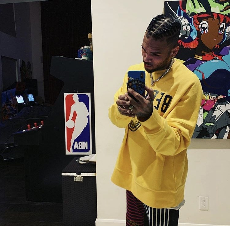 Police Reportedly Do A Wellness Check On Chris Brown After He Posts His Address On Social Media