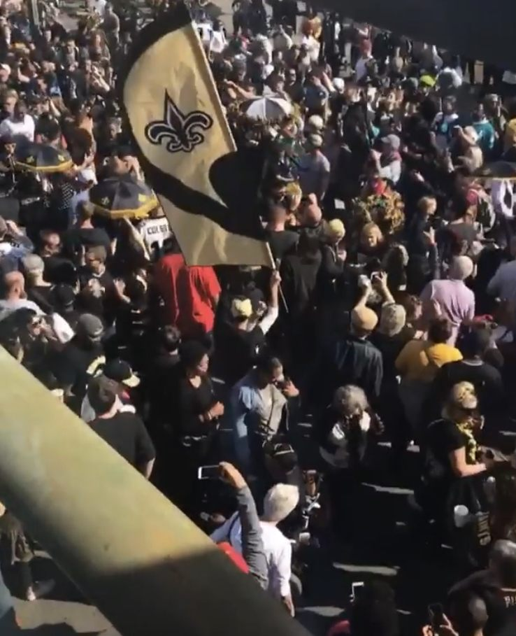 New Orleans Throws Anti Super Bowl Party After Blown Call In Game Against Rams Kept The Saints From Advancing To The Big Game