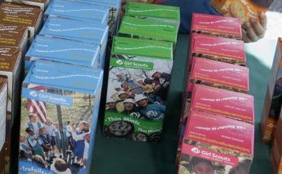 South Carolina Man for buying Girl Scout Cookies