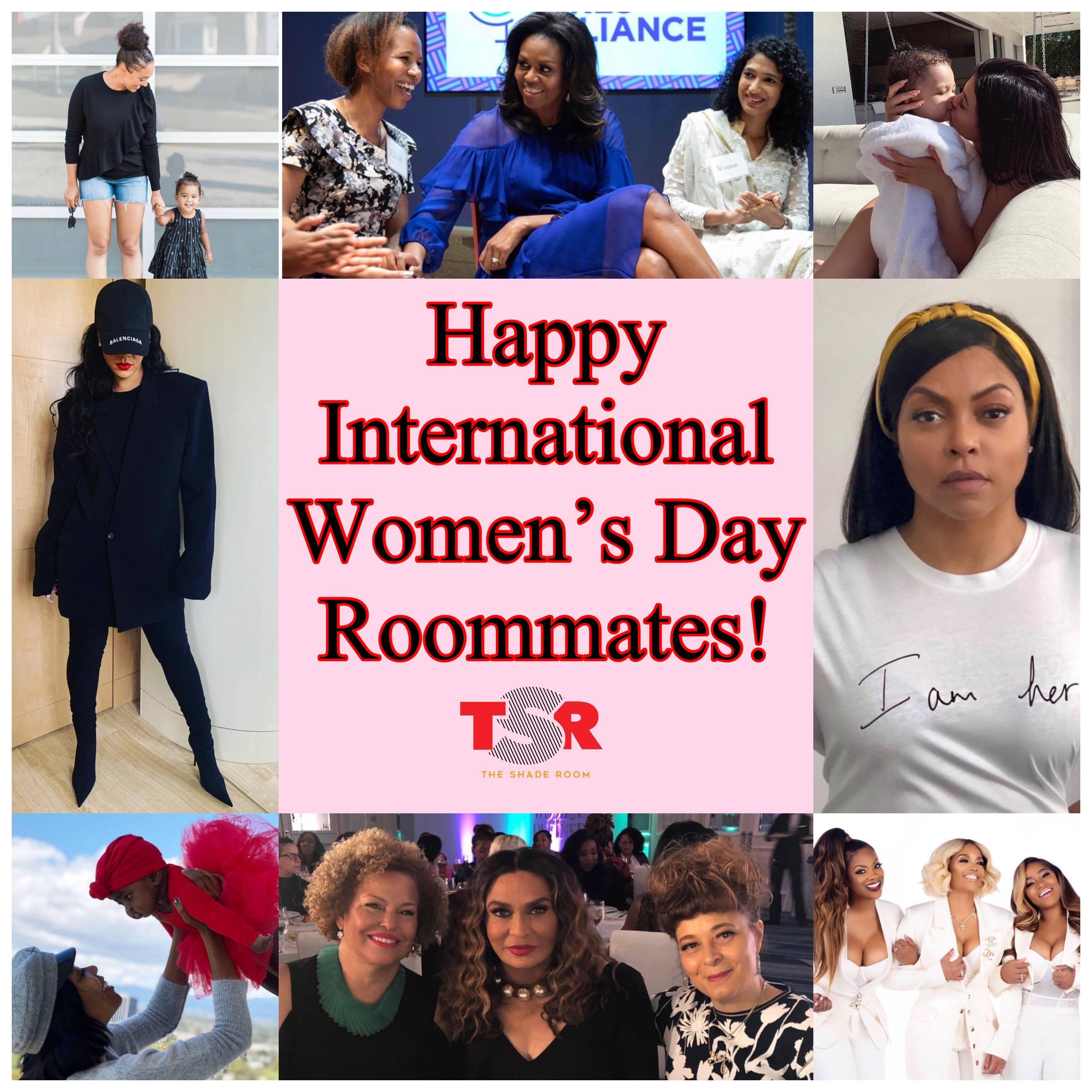 Happy International Women's Day Roommates