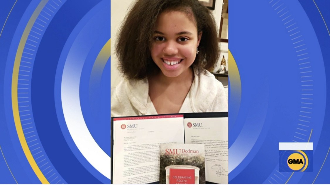 16-Year-Old Texas College Student Gets Accepted Into 9 Law Schools After Being Home-Schooled Half Of Her Life