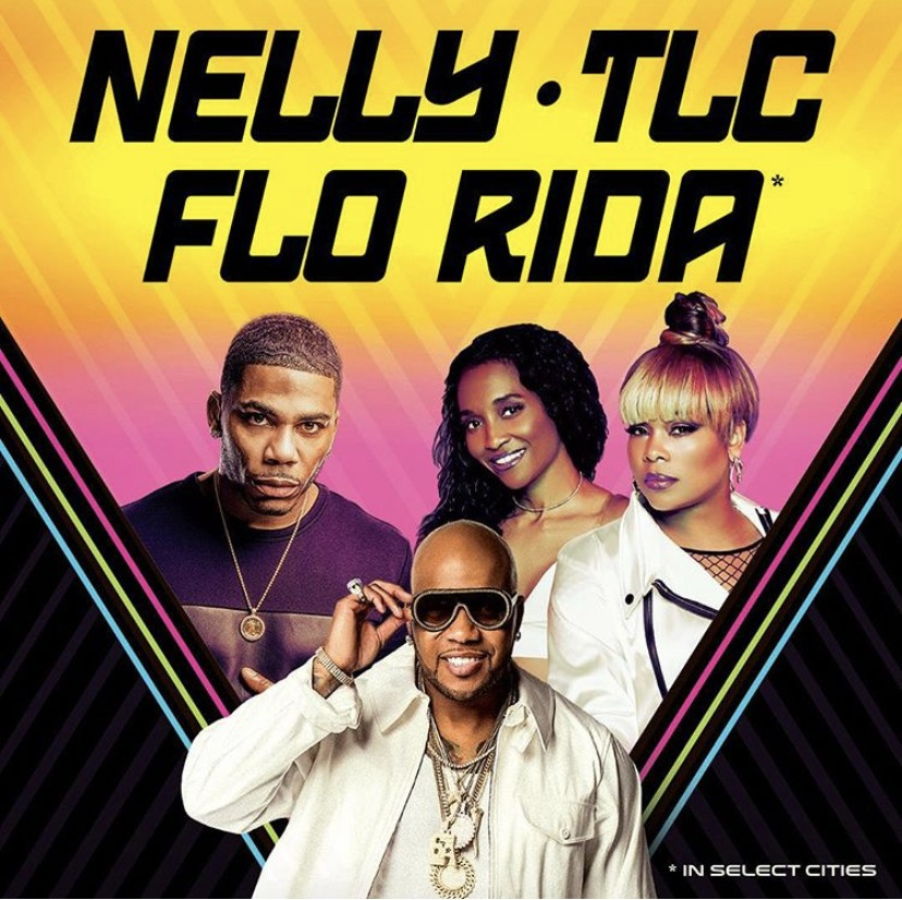 Nelly, TLC & Flo Rida Announce Summer 2019 Tour