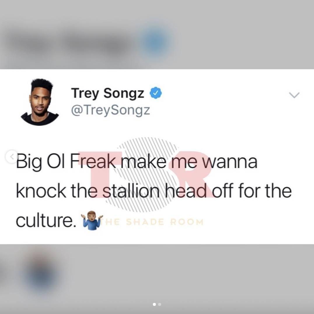Trey Songz shoots his shot