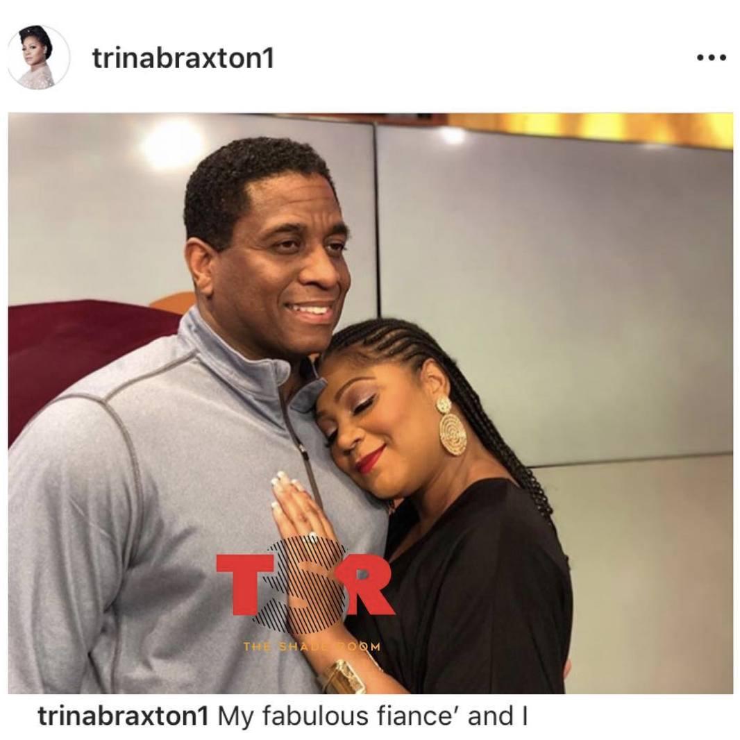 Trina Braxton and Fiance