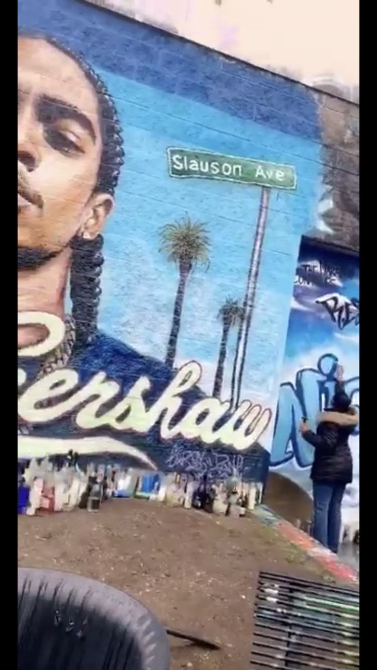Community Members Came Together To Help Restore Vandalized Nipsey Hussle Mural In Connecticut