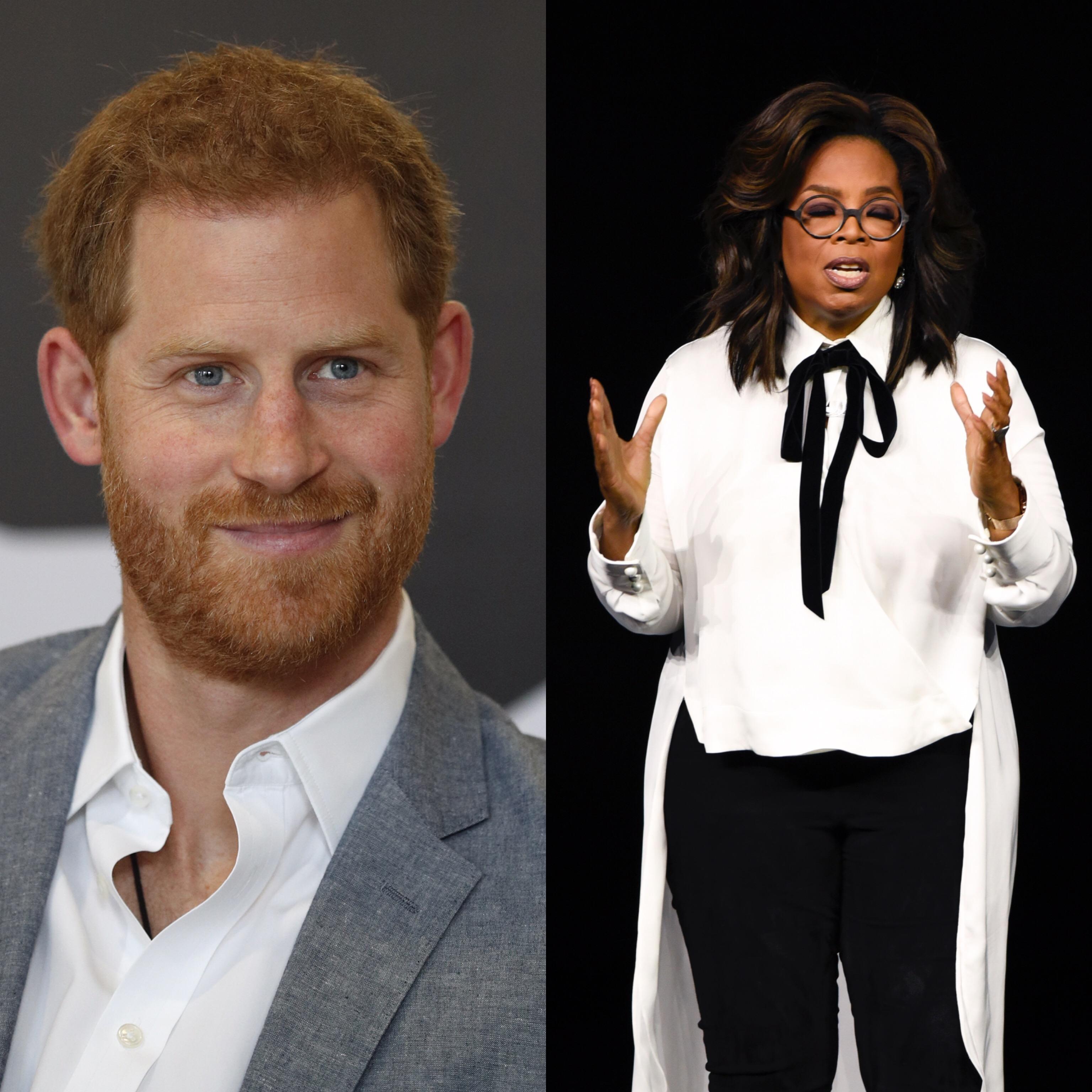 Prince Harry & Oprah Winfrey