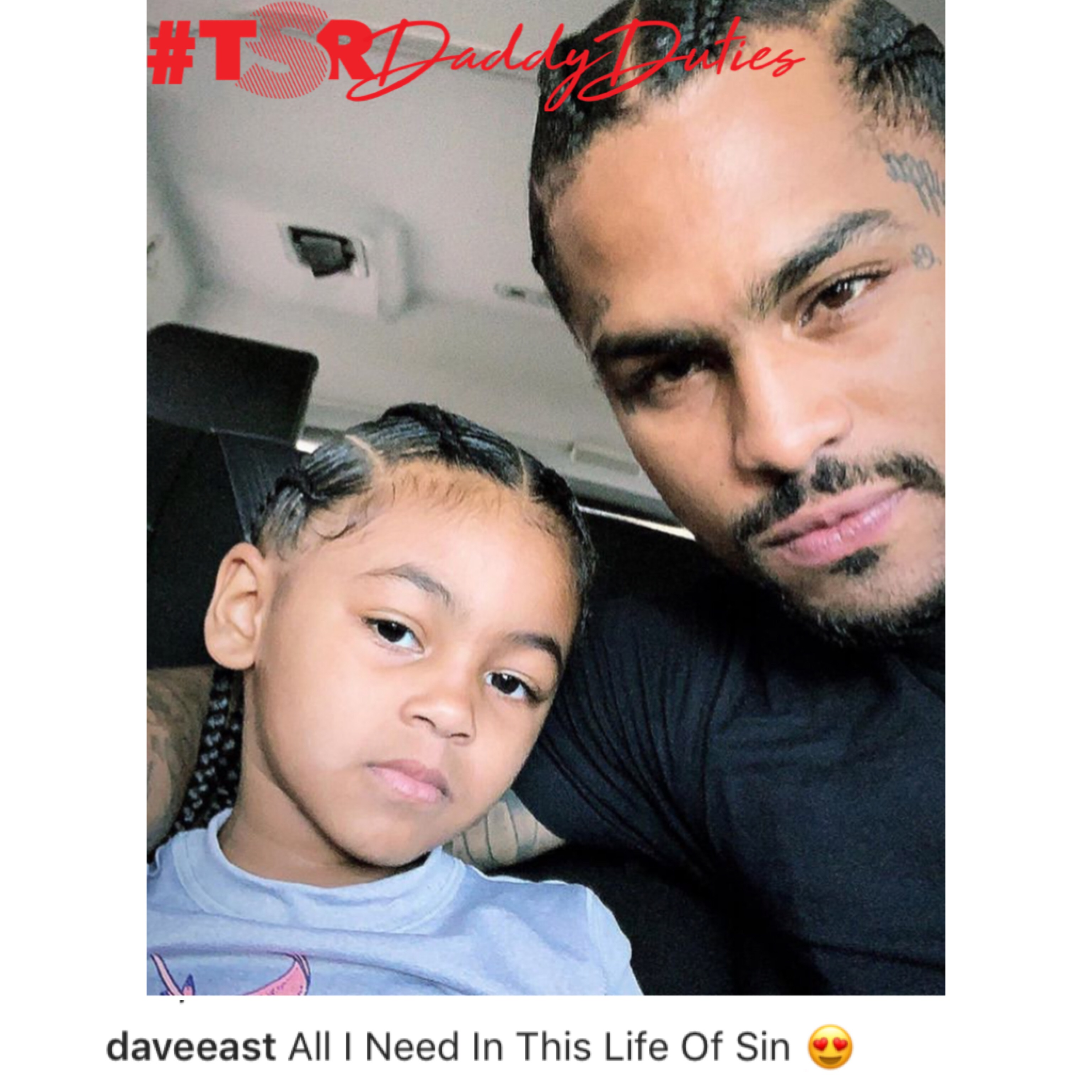 Dave East & His Daughter!