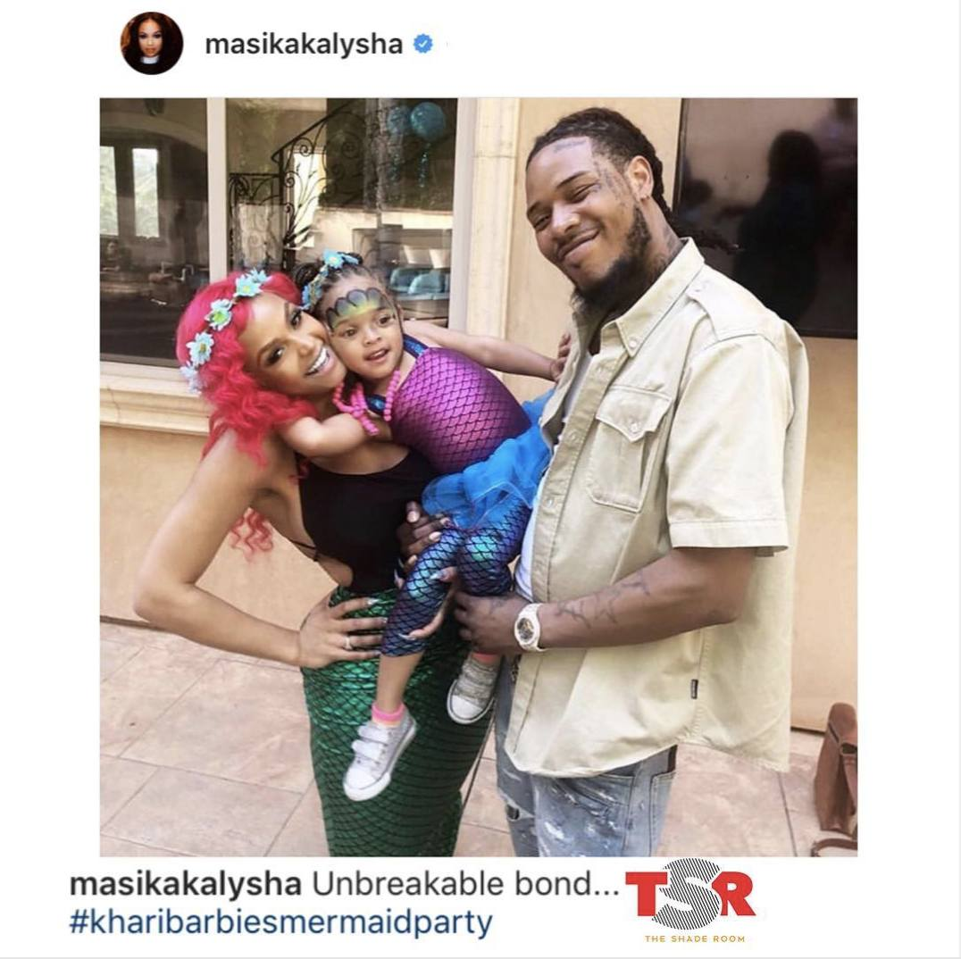 Masika Kalysha and FettyWap are all smiles with their adorable baby girl Khari