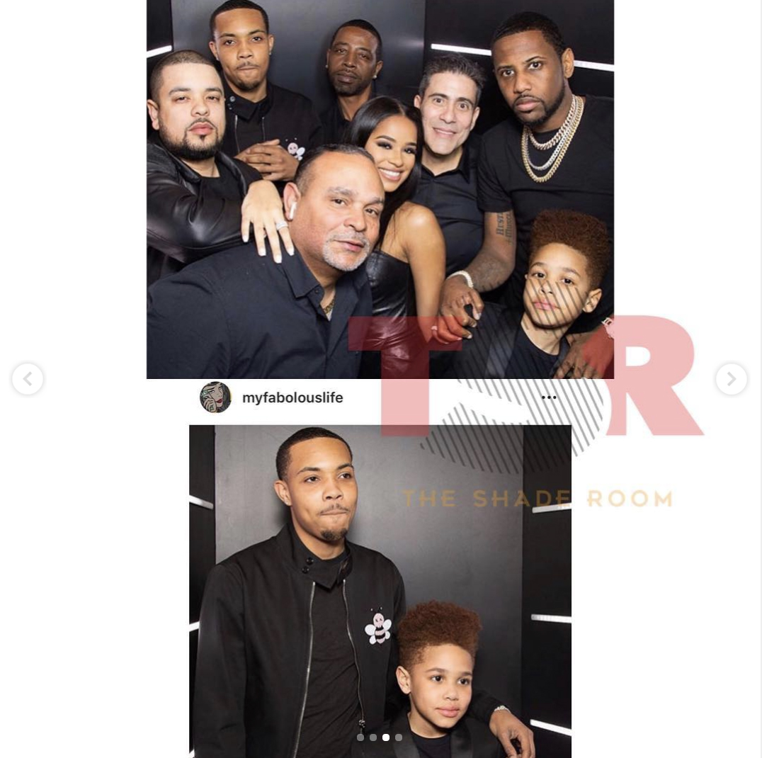 GHerbo is in good with the family Fabolous Taina