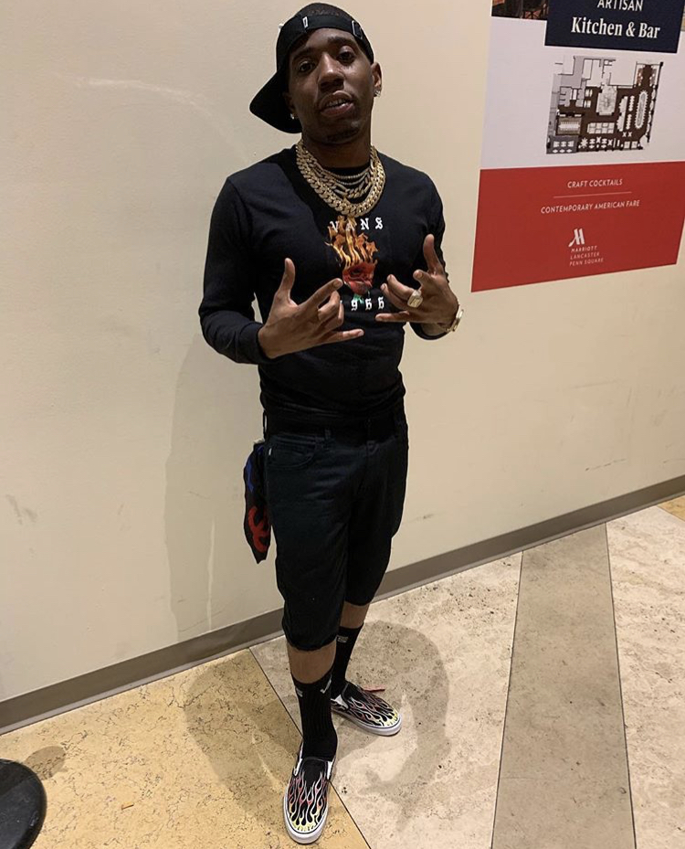 YFN Lucci's Vehicle Was Reportedly Shot Up In Atlanta, One Man Was Injured