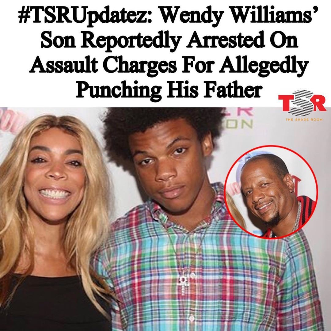 Wendy Williams' Son Reportedly Arrested On Assault Charges For Allegedly Punching His Father