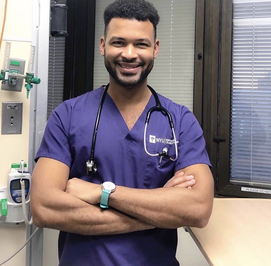 New York Man Graduates With Nursing Degree From The Same University Where He Started As A Janitor