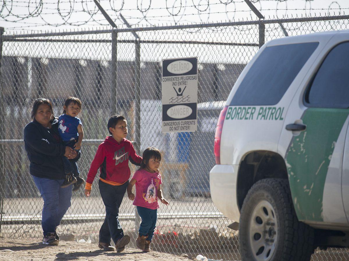 Children Released From Border Patrol